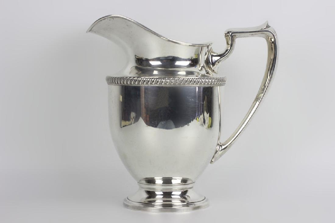 Fisher Sterling Silver Water Pitcher - 2