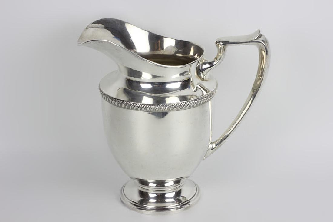 Fisher Sterling Silver Water Pitcher - 3