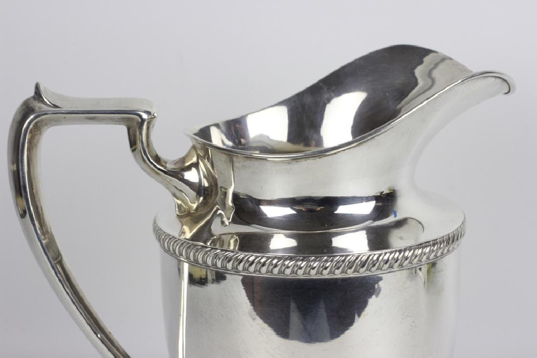 Fisher Sterling Silver Water Pitcher - 4