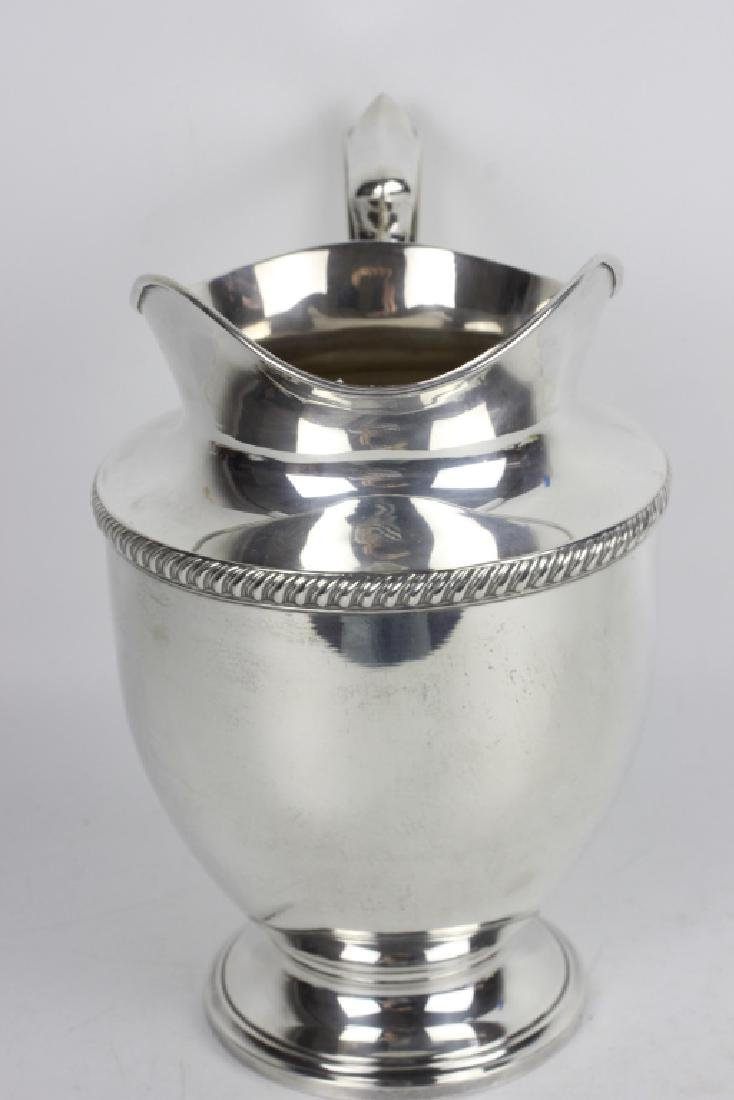Fisher Sterling Silver Water Pitcher - 7