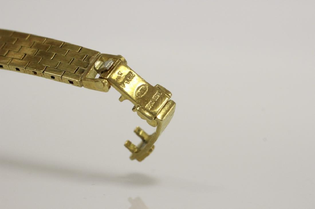 Rolex Vintage 18k Gold & Diamond Ladies Watch - 5