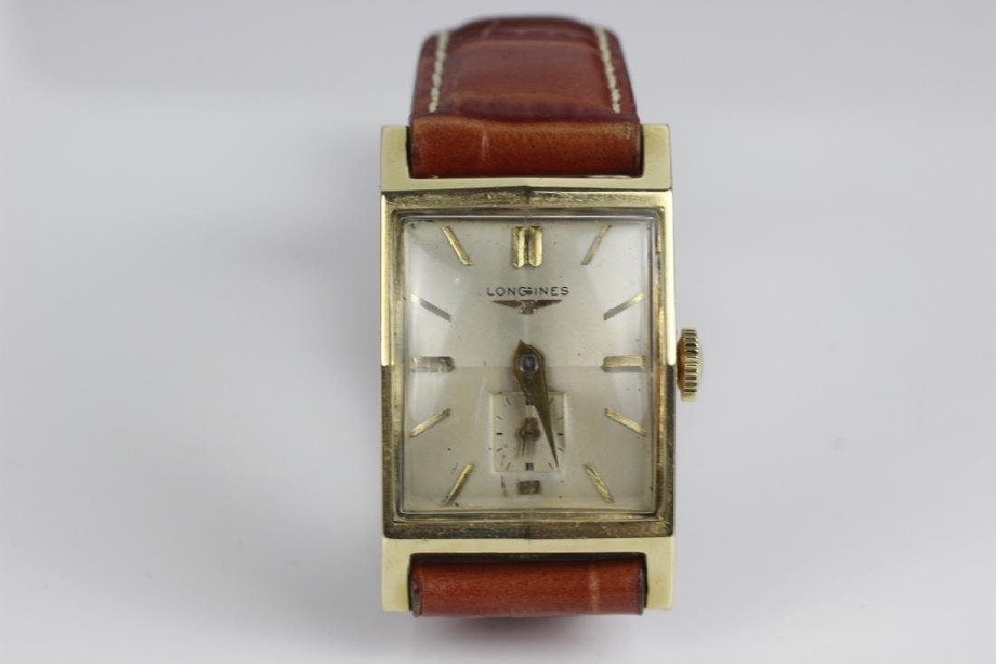 Vintage 14k Gold Longines Men's Watch