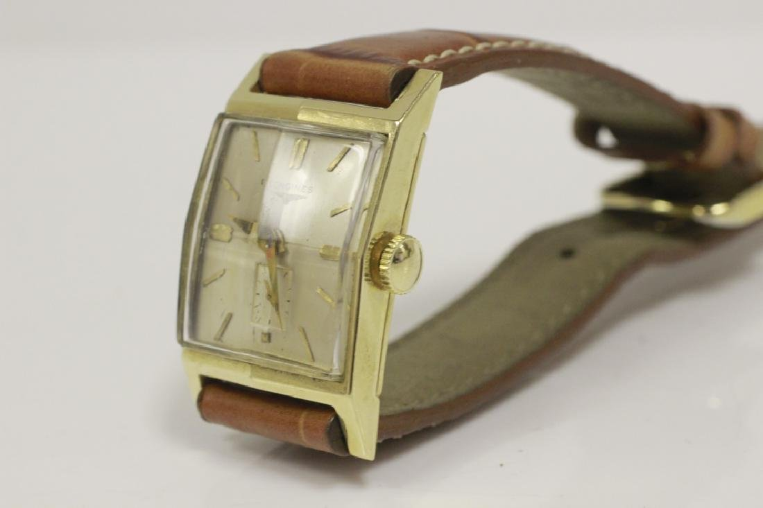 Vintage 14k Gold Longines Men's Watch - 5