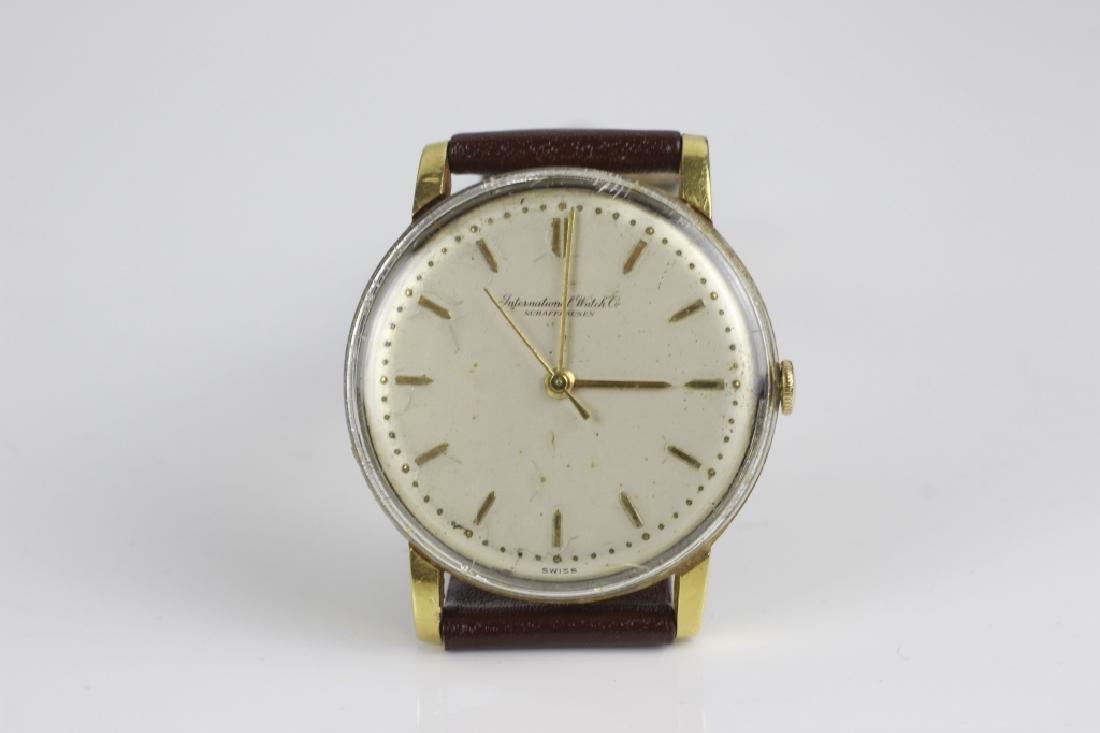 18k Gold  IWC Schaffhausen Men's Watch