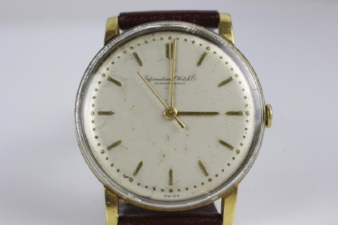 18k Gold  IWC Schaffhausen Men's Watch - 2