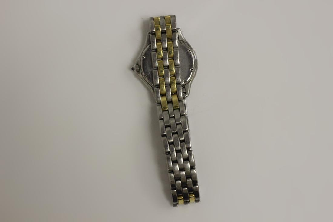 Cartier Ladies Panthere Cougar S/S & Gold Watch - 10