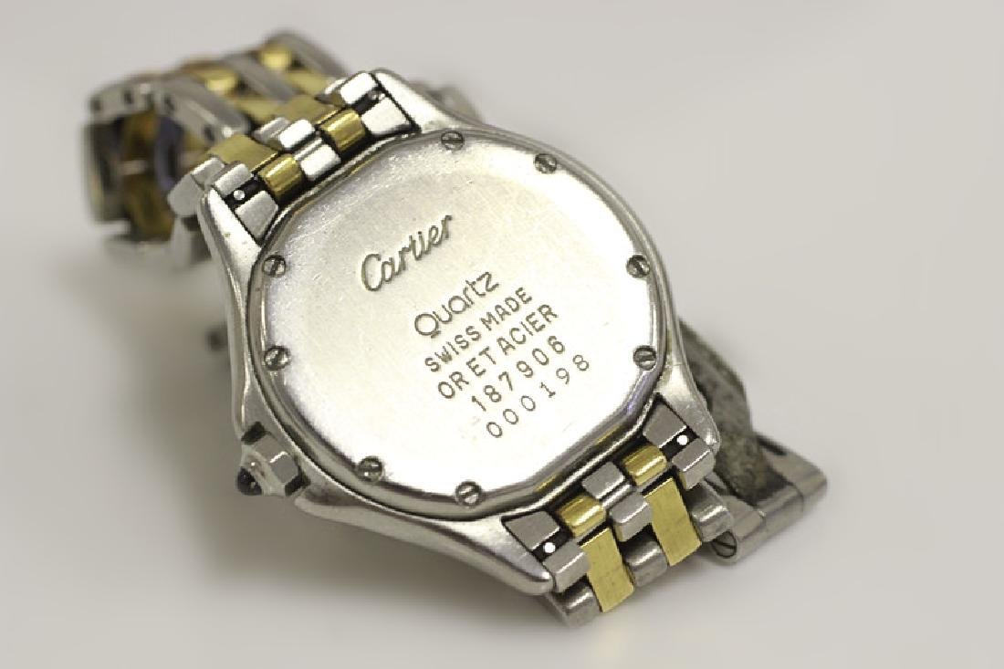 Cartier Ladies Panthere Cougar S/S & Gold Watch - 5