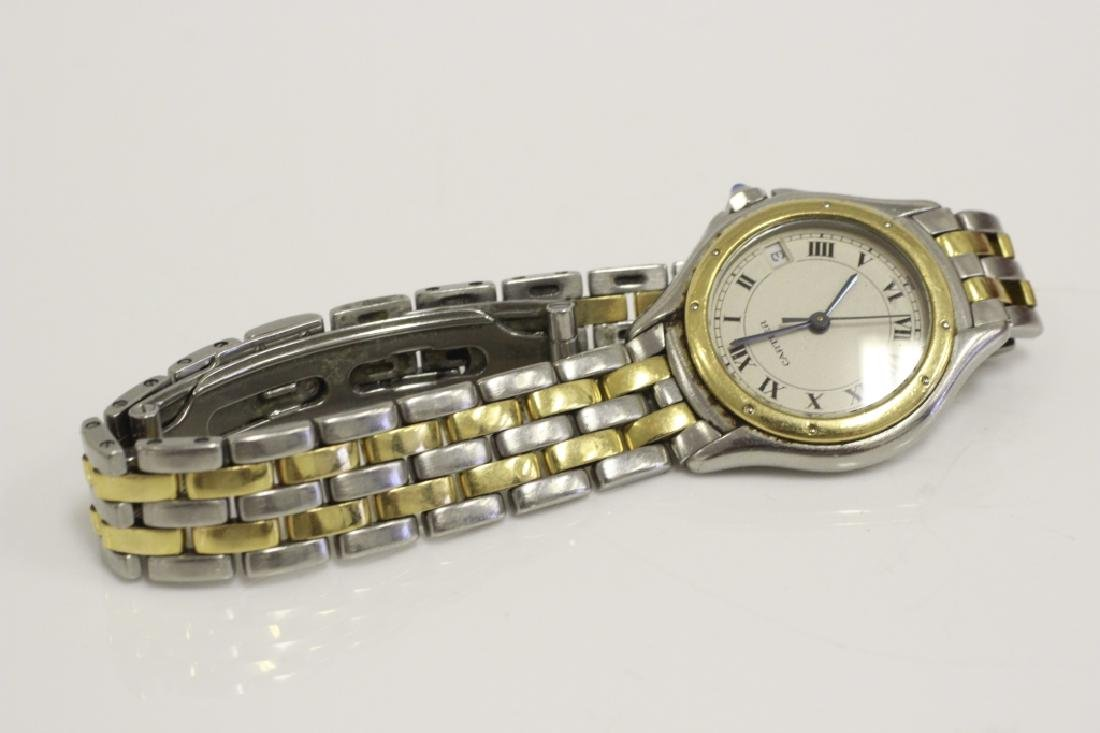 Cartier Ladies Panthere Cougar S/S & Gold Watch - 8