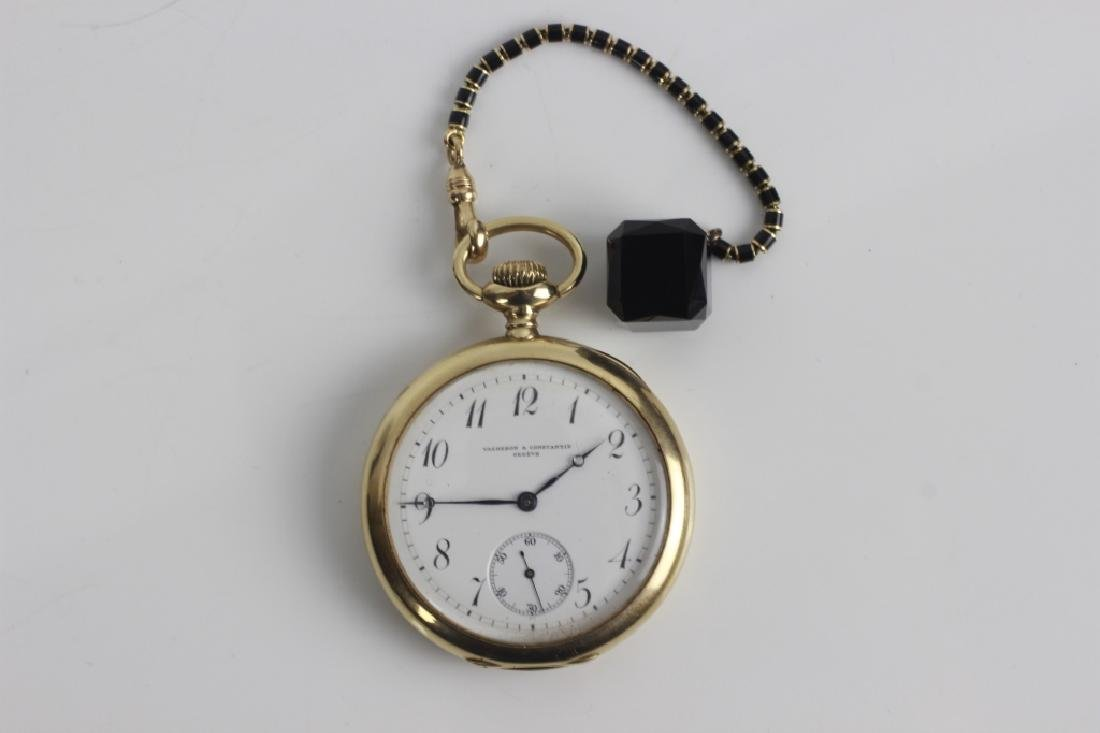 Vacheron & Constantin Geneve 14k Gold Pocket Watch