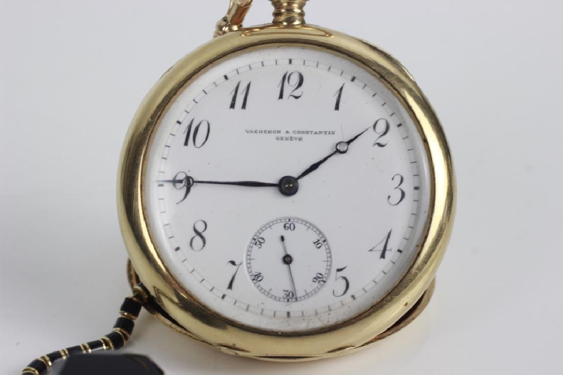Vacheron & Constantin Geneve 14k Gold Pocket Watch - 7