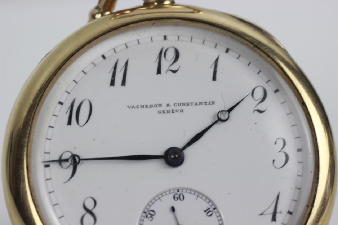 Vacheron & Constantin Geneve 14k Gold Pocket Watch - 8