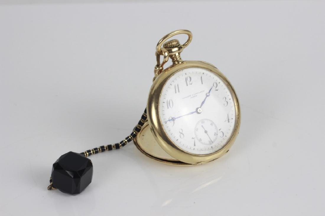 Vacheron & Constantin Geneve 14k Gold Pocket Watch - 9
