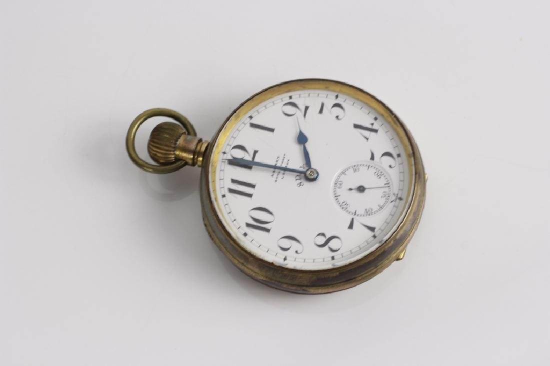 Asprey Large Rail Road Pocket Watch - 5
