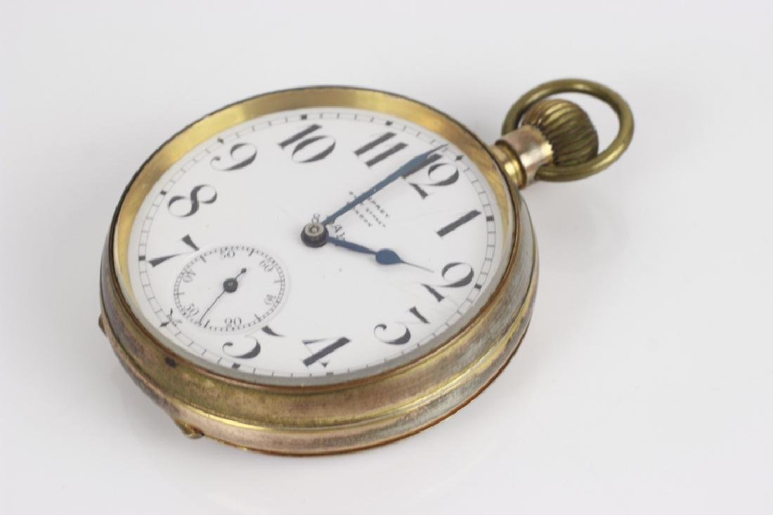 Asprey Large Rail Road Pocket Watch - 6