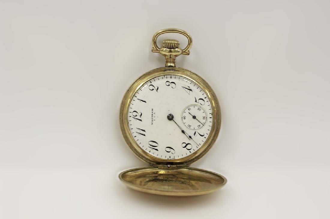 Hamden Pocket Watch, Engraved, 17 Jewel - 4