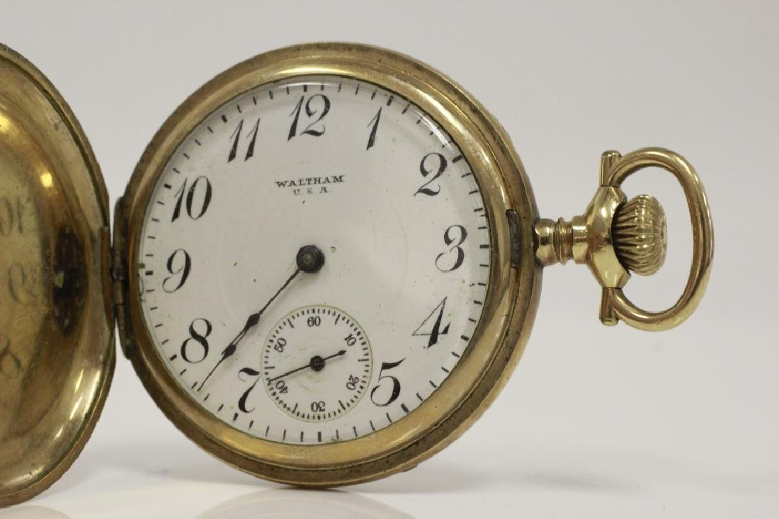 Hamden Pocket Watch, Engraved, 17 Jewel - 6