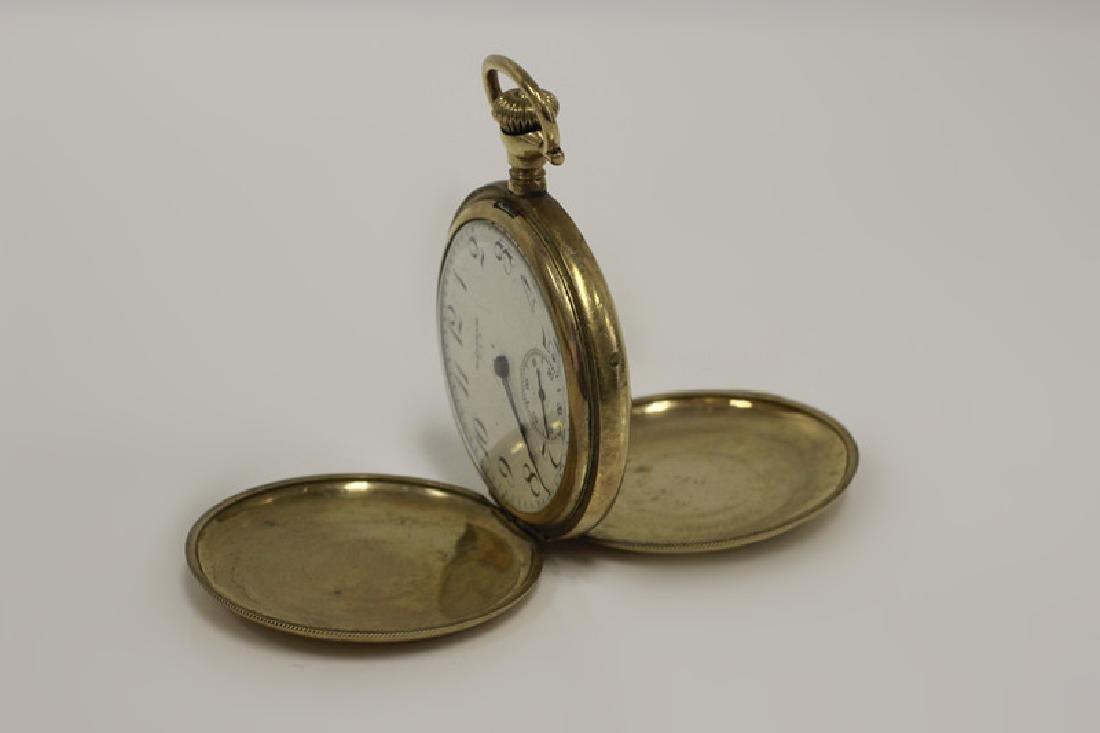 Hamden Pocket Watch, Engraved, 17 Jewel - 7