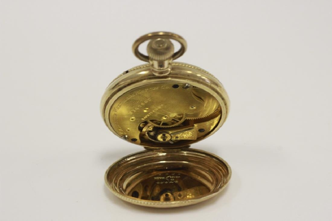 American Watch Co. Small Pocket Watch - 6