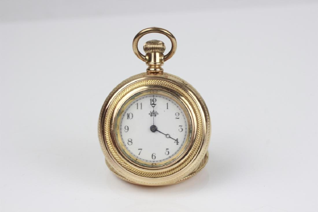 American Watch Co. Small Pocket Watch - 7