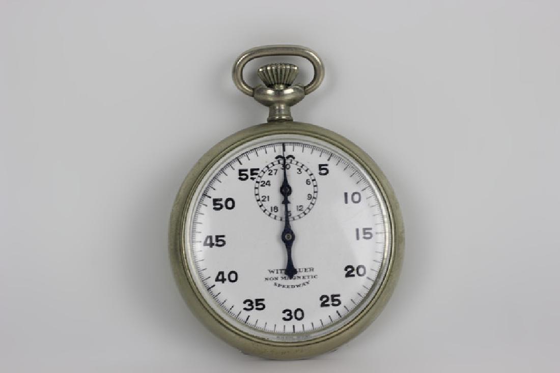 Wittnauer Stop Watch Pocket Watch. Swiss Made