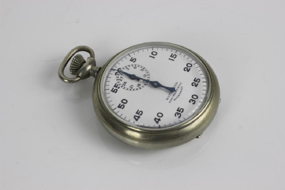 Wittnauer Stop Watch Pocket Watch. Swiss Made - 4