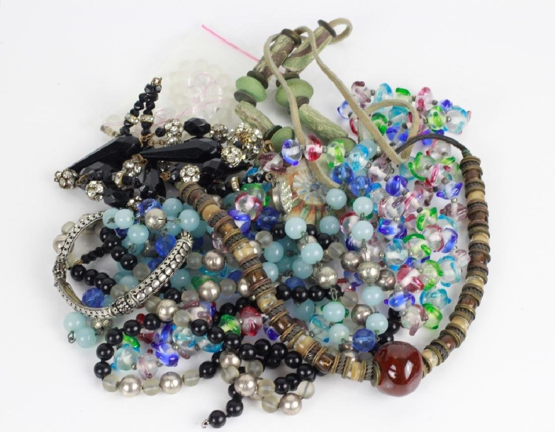 Lot of Beaded Costume Necklaces
