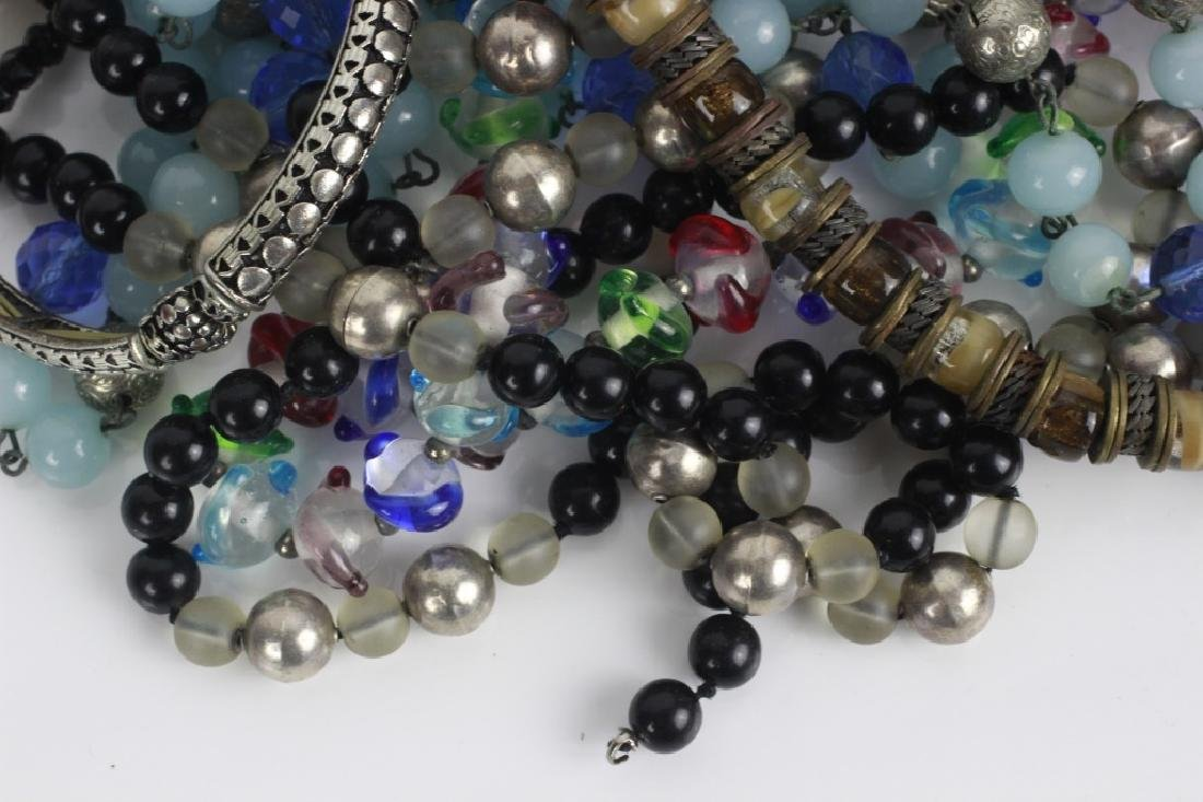 Lot of Beaded Costume Necklaces - 2