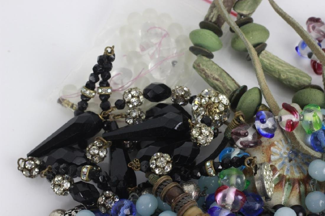 Lot of Beaded Costume Necklaces - 5