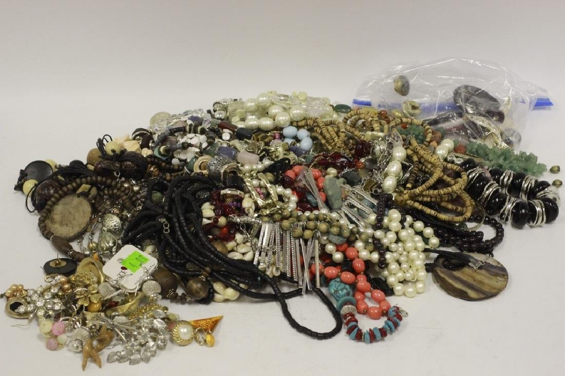 Very Large Lot of Costume Jewelry