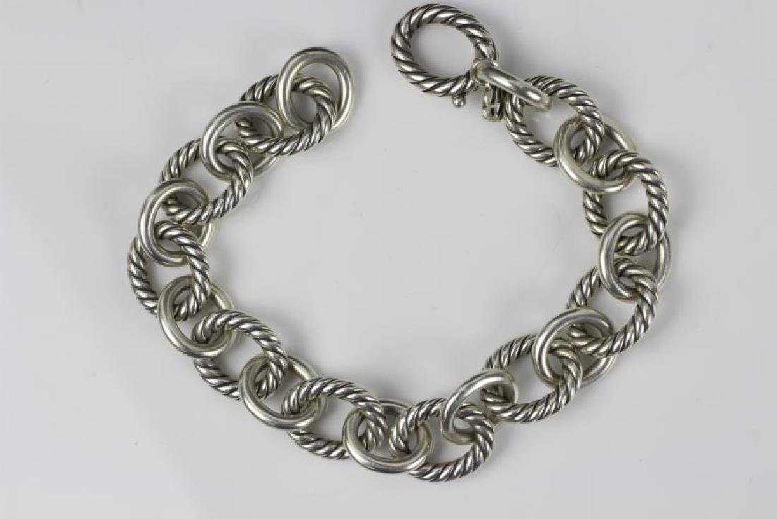 David Yurman 3pc Lot of Sterling Jewelry - 10