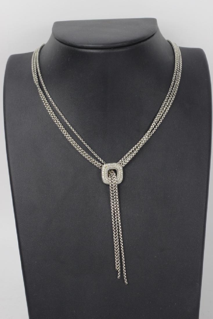 David Yurman 3pc Lot of Sterling Jewelry - 2
