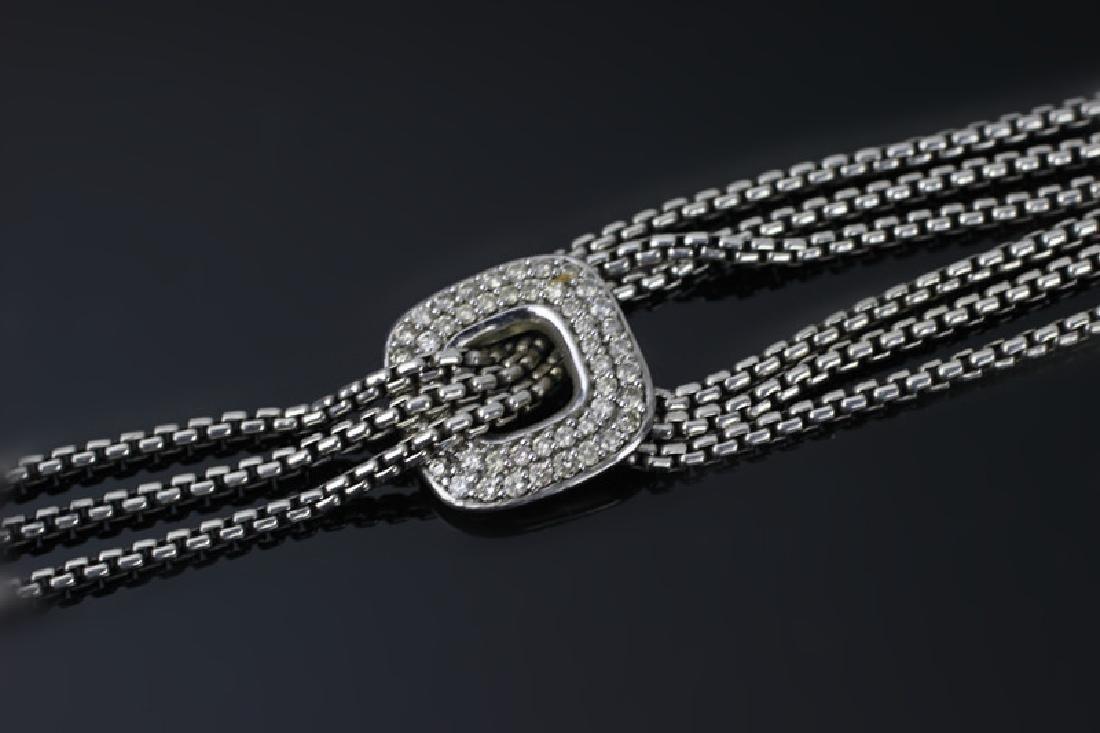 David Yurman 3pc Lot of Sterling Jewelry - 4