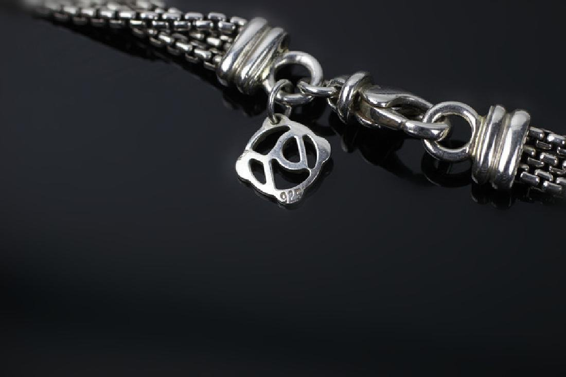 David Yurman 3pc Lot of Sterling Jewelry - 5