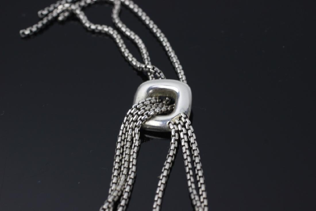 David Yurman 3pc Lot of Sterling Jewelry - 6