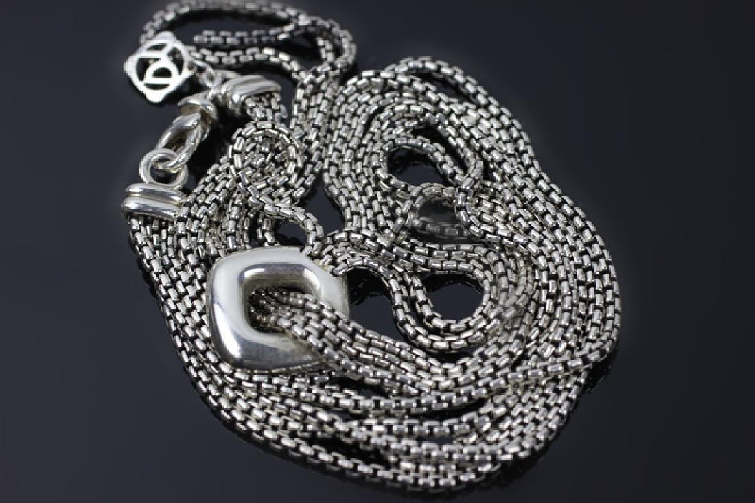 David Yurman 3pc Lot of Sterling Jewelry - 7