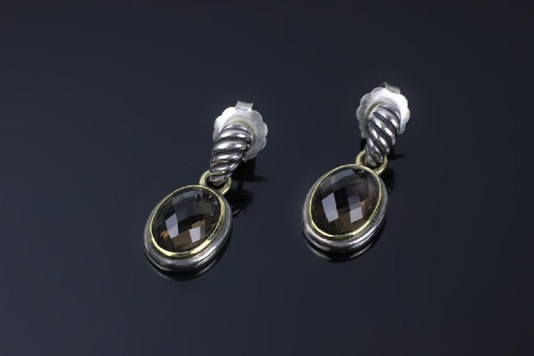 David Yurman 3pc Lot of Sterling Jewelry - 8