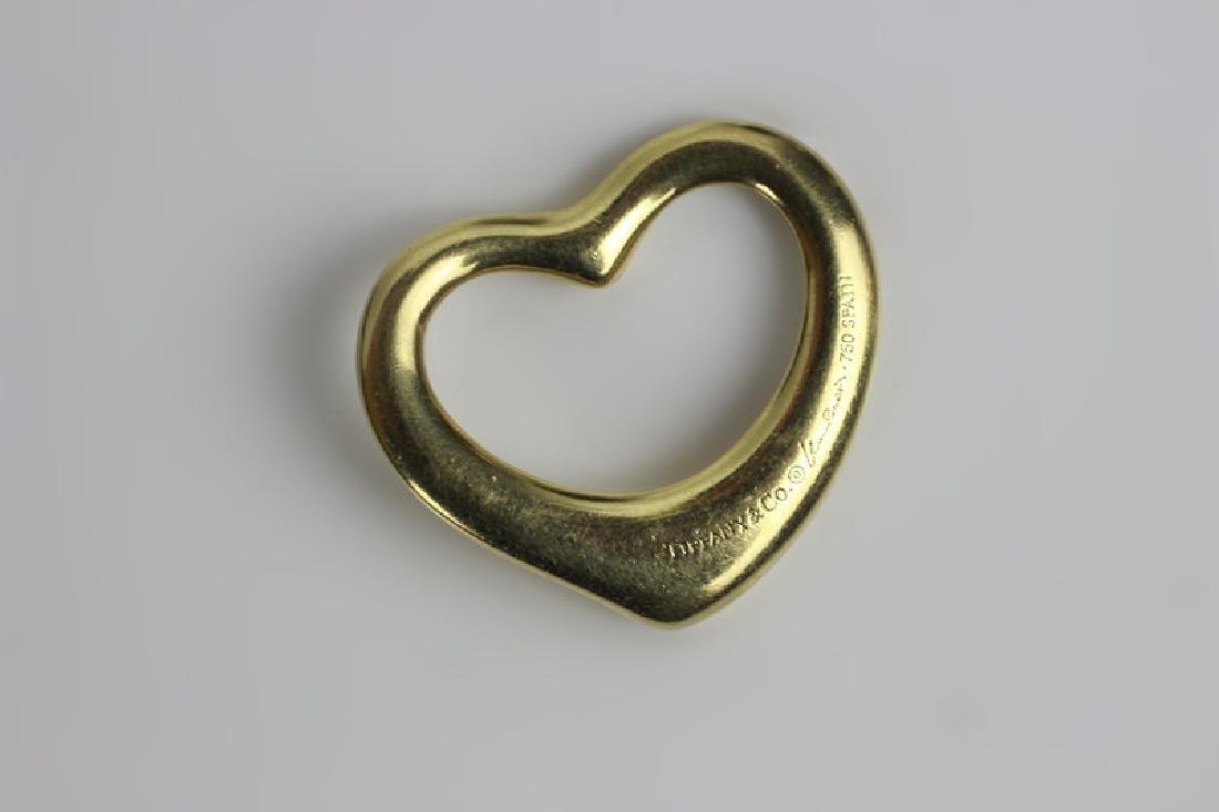 2 Tiffany & Co. Gold Items, One is Elsa Peretti - 2