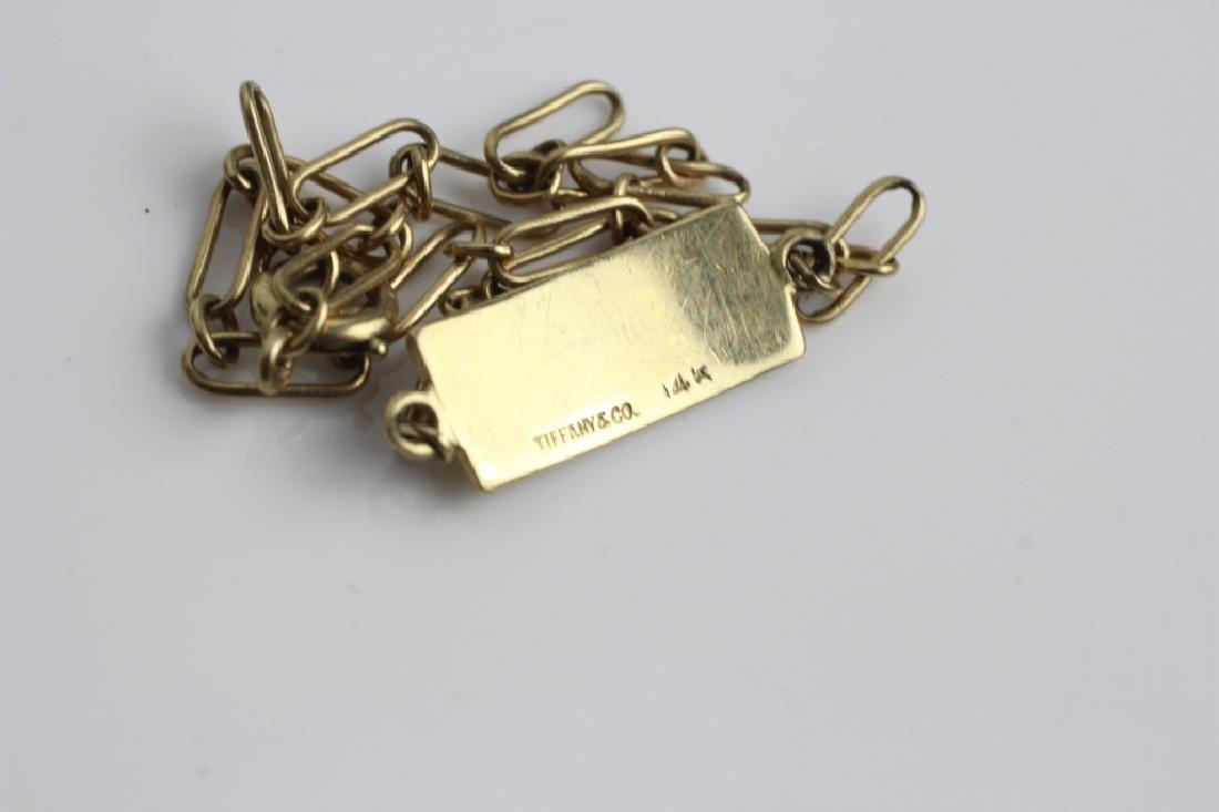 2 Tiffany & Co. Gold Items, One is Elsa Peretti - 4