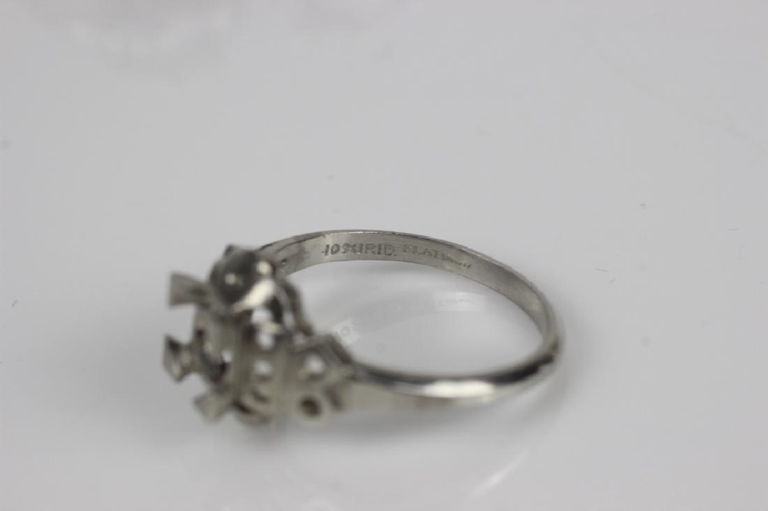 5 Platinum Ring Settings - 2