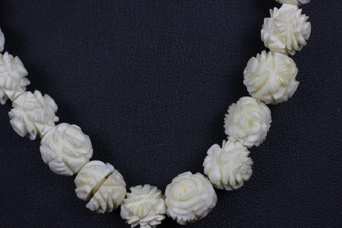 4pc Lot of Bone Jewelry - 2