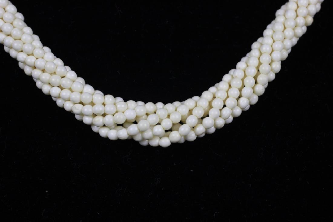 4pc Lot of Bone Jewelry - 5