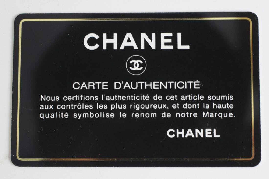 Chanel Authentic Black Patent Small Tote Bag - 9