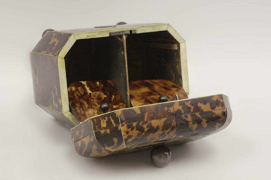 19thc English Tea Caddy - 10