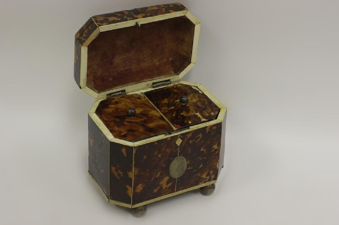 19thc English Tea Caddy - 2