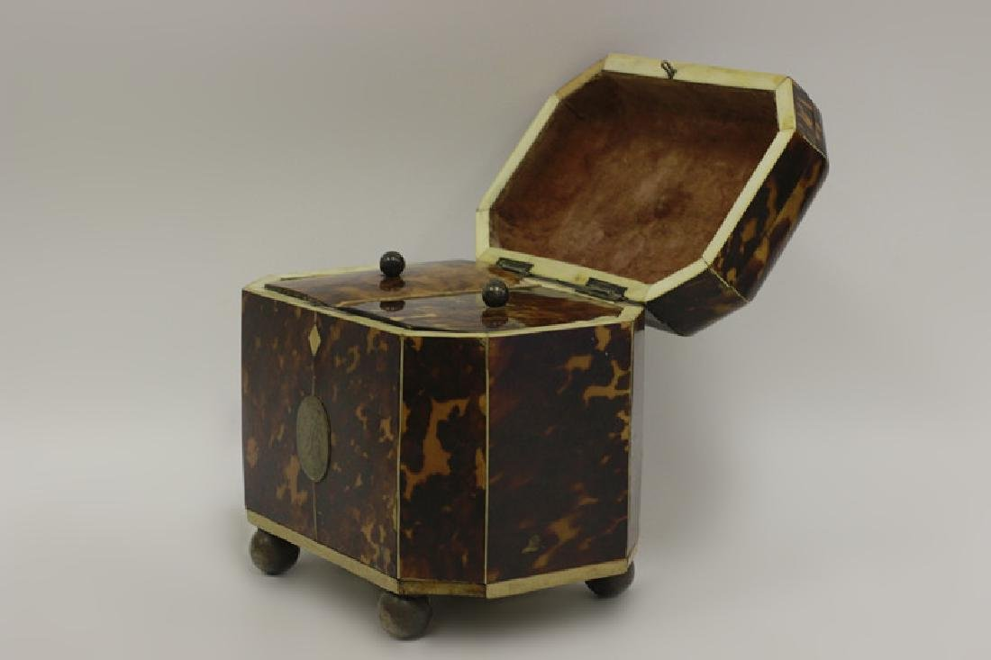 19thc English Tea Caddy - 4