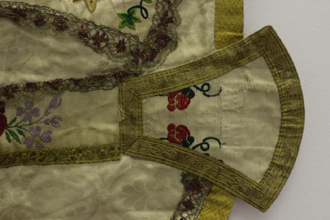 Antique Church Garment, Hand Made - 3