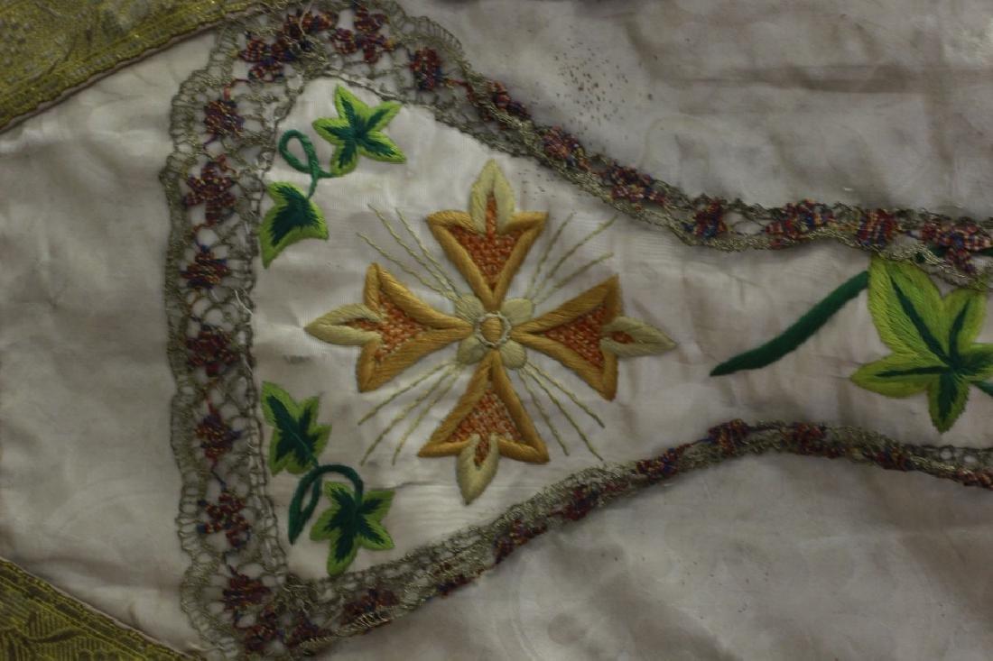 Antique Church Garment, Hand Made - 5