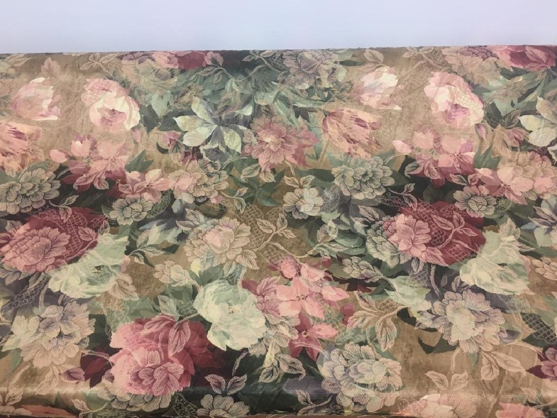Jacard Floral Damask Print Fabric