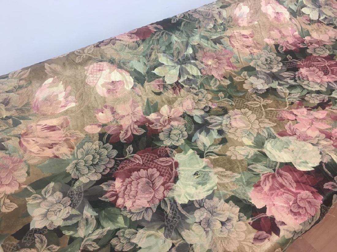Jacard Floral Damask Print Fabric - 2