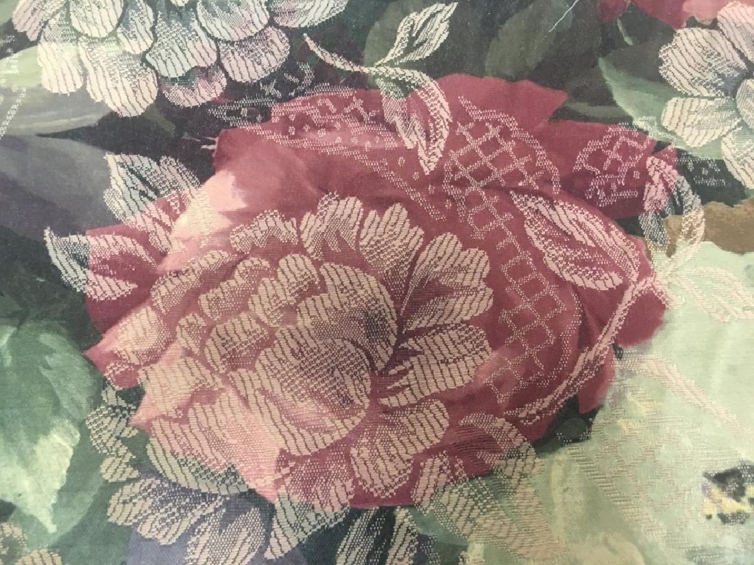 Jacard Floral Damask Print Fabric - 3